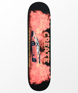 CREATE SKATEBOARD DIABLO FIRE 8.25""