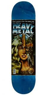 DARKSTAR DECK HEAVY METAL 2 R7 LUTZKA 8.375