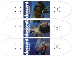 DESCENT SKATEBOARD X CHRIS FOSS