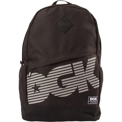 DGK BACKPACK ANGLE REFLECT BLACK