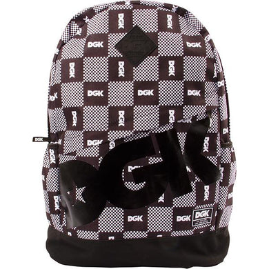 DGK BACKPACK ANGLE CHECK BLACK