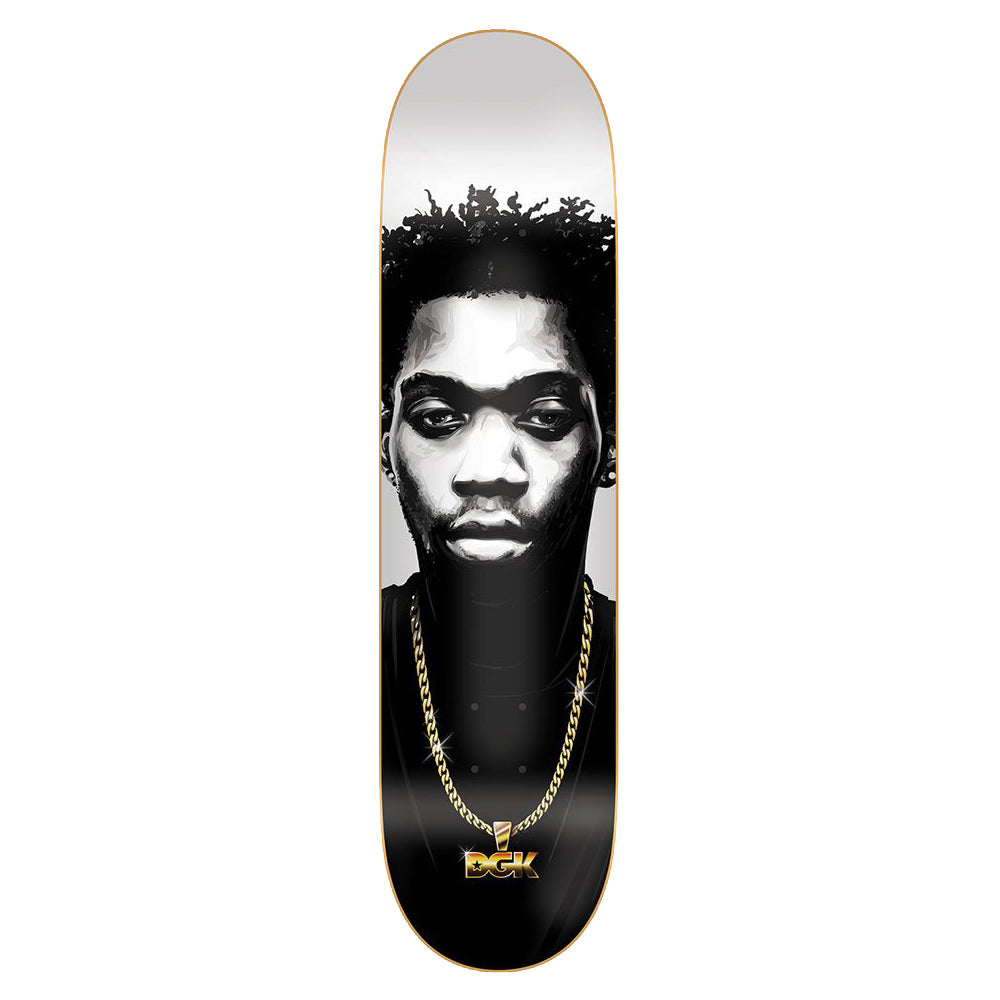 DGK DECK PORTRAIT WILLIAMS 8.0