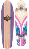 DUSTERS CRUISER FLASHBACK TIEDYE 31.0 PINK/BLUE