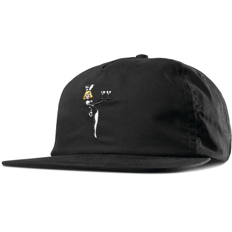 EMERICA STRAPBACK LADY LUCK BLACK