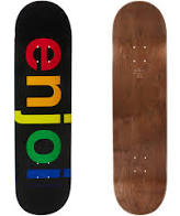 ENJOI DECK SPECTRUM BLACK R7 8.25