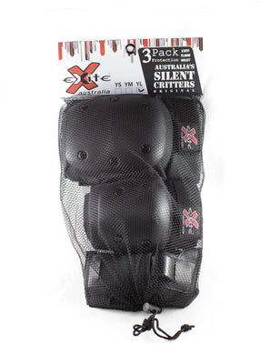 EXCITE PROTECTION SET 'KNEE, ELBOW & WRIST' 3PK