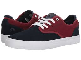 EMERICA SHOE WINO G6 NAVY/RED