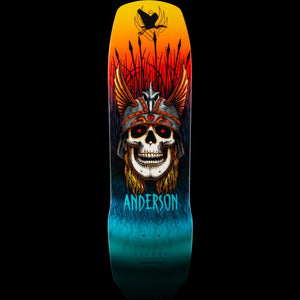 POWELL PERALTA DECK FLIGHT ANDY ANDERSON HERON SHAPE 9.13 X 32,8