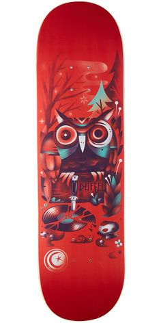 Foundation Duffel Wood Wraith Skateboard Deck - 8.5
