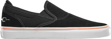 EMERICA SHOES WINO G6 SLIP-ON X FUNERAL BLACK