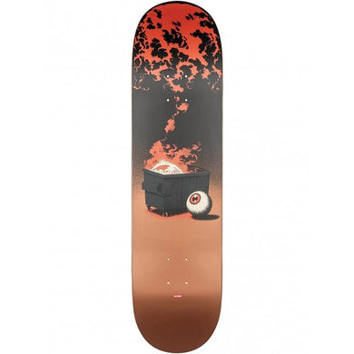 GLOBE DECK G2 ON THE BRINK DUMPSTER FIRE 8.25