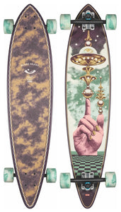 GLOBE LONGBOARD PINTAIL 37.0 THE LAUNCHER