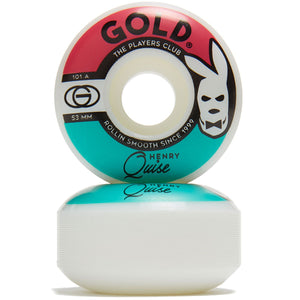GOLD WHEELS QUISE PLAYERS 53MM