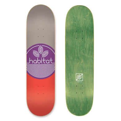 HABITAT DECK LEAF DOT PP LARGE - 8.375