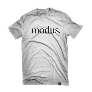 MODUS BEARINGS TSHIRT OG LOGO BLACK/WHITE