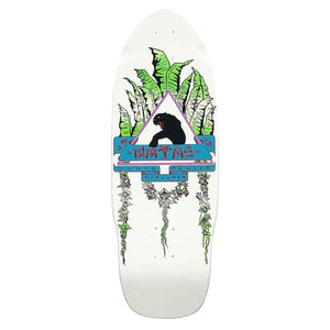 SANTA MONICA AIRLINES DECK NATAS LEAVES WHITE DIP 10""