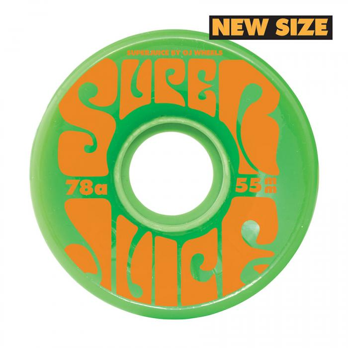 OJ WHEELS MINI SUPER JUICE GREEN 55MM/78A