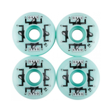 ORBS WHEELS FANTAMAS TEAL 56MM