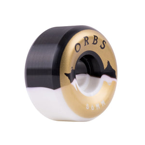ORBS WHEELS SPECTERS SPLITS BLACK/WHITE 56MM
