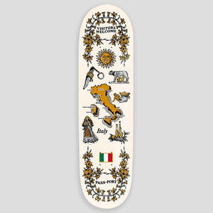 PASS-PORT DECK INTERNATIONAL TEA TOWEL ITALY 8.38