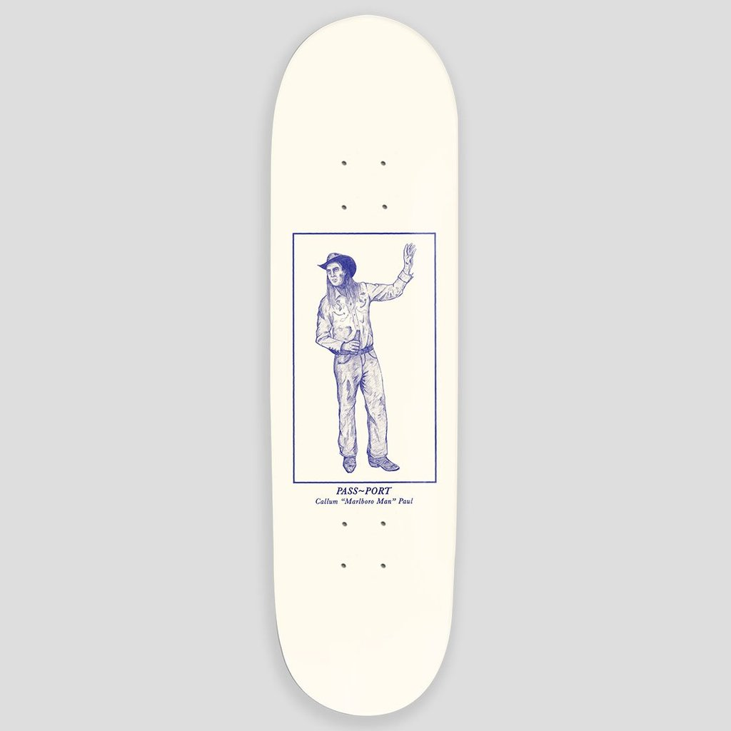 PASS-PORT DECK CALLUM PAUL MALBORO MAN 8.25