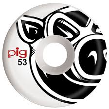 PIG WHEELS PIG HEAD NATURAL
