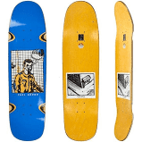 POLAR SKATE CO DECK PAUL GRUND MEDUSA DESIRES BLUE P9 SHAPE 8.625