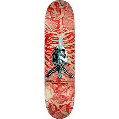 POWELL PERALTA DECK SKULL & SWORD 8.0 X 31.45