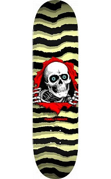 Powell Peralta Ripper Skateboard Deck Pastel Yellow 245 K21 - 8.75 x 32.95
