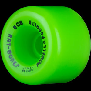 POWELL PERALTA WHEELS RAT BONES 90A