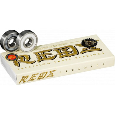 BONES BEARINGS CERAMIC SUPER REDS (8 PACK)