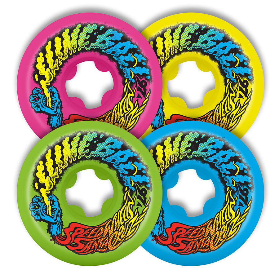SLIME BALLS WHEELS VOMIT MINI MIX UP 56MM