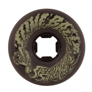 SLIME BALLS VOMIT WHEELS MINI BLACK GLO 56MM