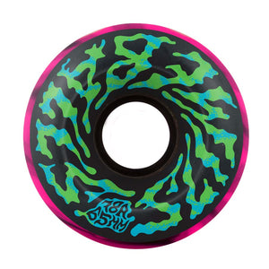 SLIMEBALLS WHEELS SWIRLY BLACK PINK 65MM/78A