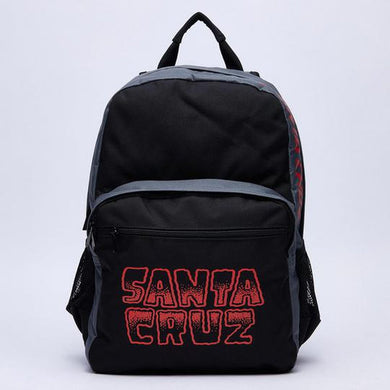 SANTA CRUZ BACKPACK LINE UP BLACK