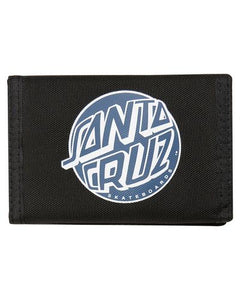 SANTA CRUZ FISH EYE DOT VELCRO WALLET
