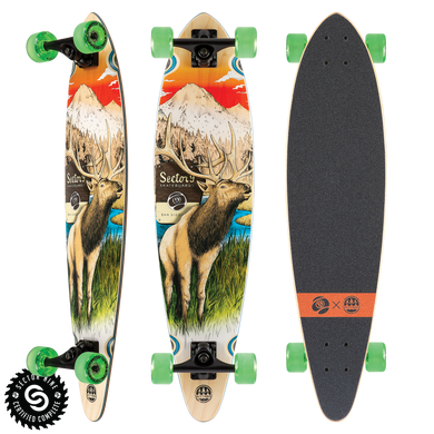 SECTOR NINE LONGBOARD COMPLETE STAG SWIFT