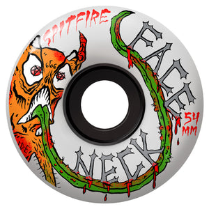 SPITFIRE WHEELS 80HD X NECKFACE CLEAR 54MM