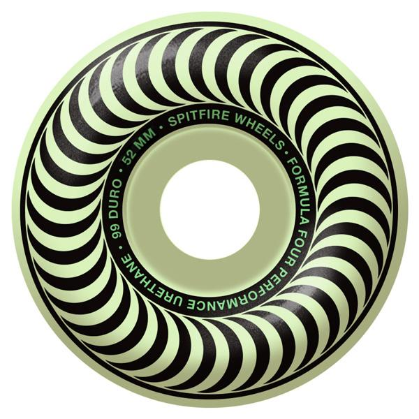 SPITFIRE WHEEL FORMULA FOUR STAYLIT GLOW 54MM