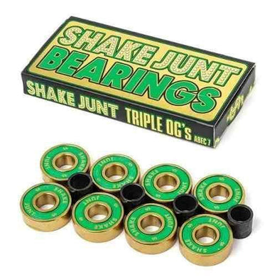 SHAKE JUNT BEARINGS ABEC 7 TRIPLE OG'S