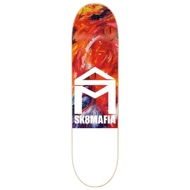 SK8MAFIA DECK HOUSE LOGO OIL HIGH 8.25