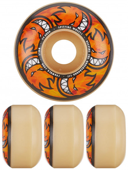 SPITFIRE WHEELS FORMULA 4 HELLFIRE MULTIBALLS LOCKIN 99D 52mm