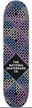 THE NATIONAL SKATEBOARD CO LEGEND BLACK 8.25
