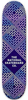 THE NATIONAL SKATEBOARD CO LEGEND PURPLE 8.125