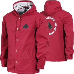 THRASHER JACKET COACH NEW OATH CARDINAL RED