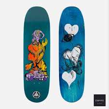 WELCOME DECK WARREN PEACE ON BACULUS 2.0  DUSTY TEAL 9.0
