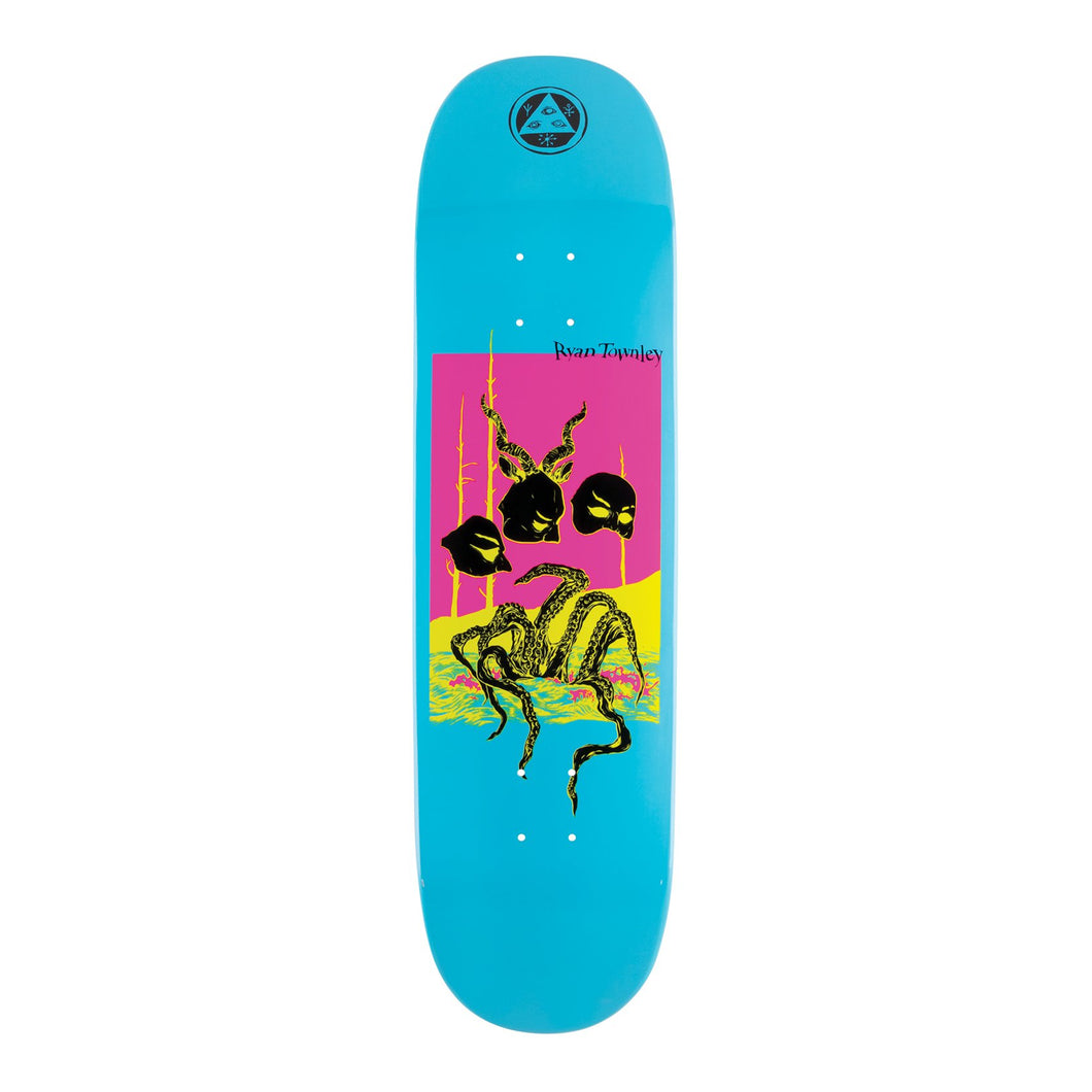 WELCOME SKATEBOARDS MASQUERADE ON ENENRA 8.5 BLUE DIP
