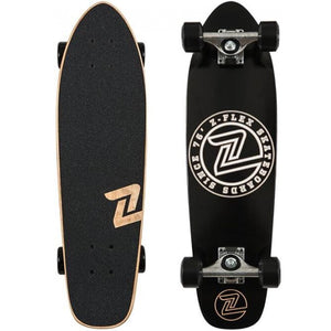 Z-Flex Black & White 27'' Cruiser