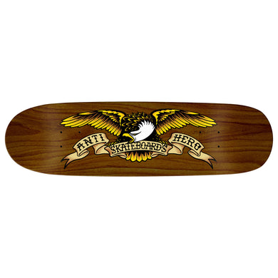 ANTIHERO DECK SHAPED EAGLE BROWN BOMBER 8.86