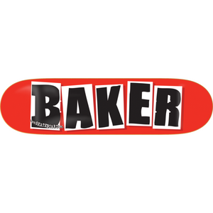 BAKER DECK OG BRAND LOGO RED/BLACK 8.475 X 31.875